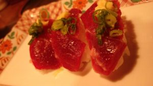 Horsemeat sushi