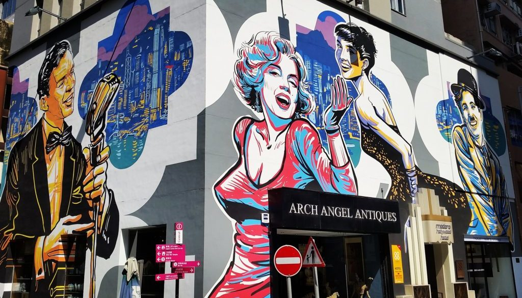A visual story of Hong Kong's compelling street art