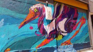 Street art in Hong Kong