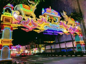 Singapore celebetrates Diwali (an Indian festival)