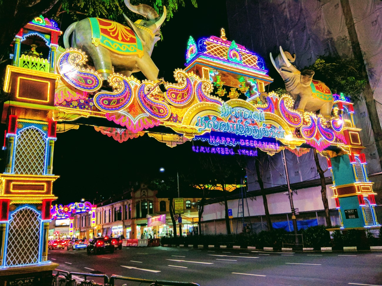 Singapore celebrates Diwali (an Indian festival)