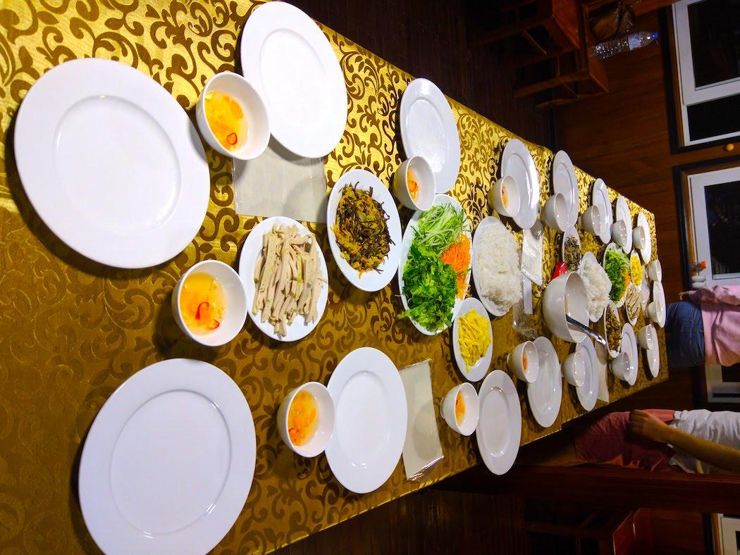 Vietnamese spring roll making class