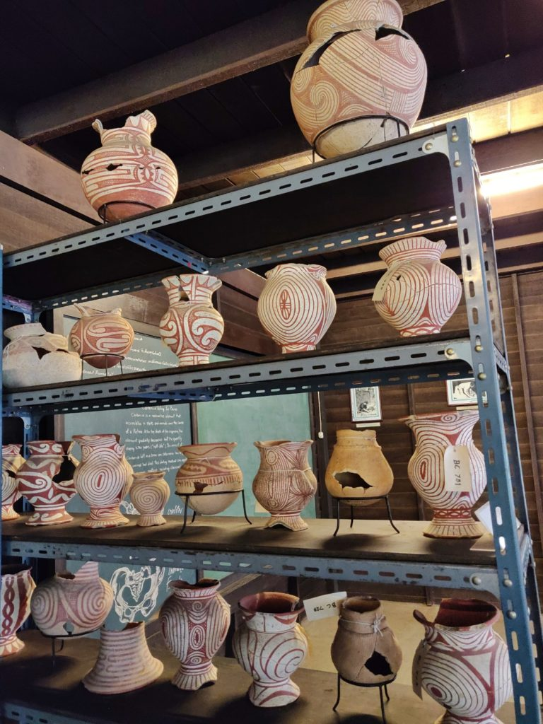 Red painted pottery of Ban Chiang