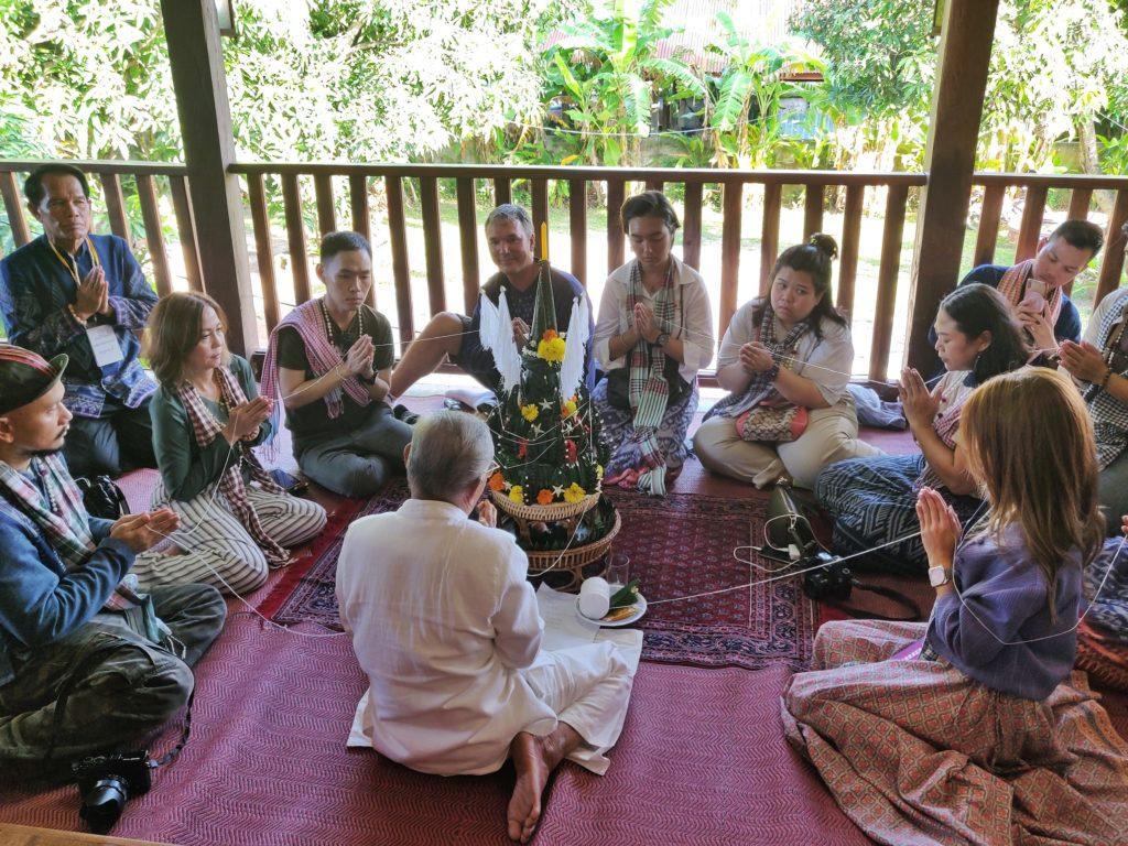 Bari Sri Su Kwan Ceremony Ban Chiang