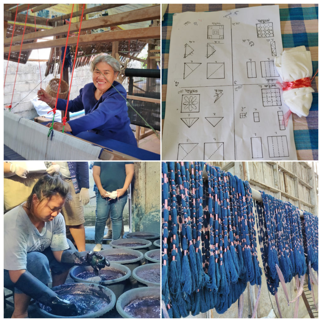 Indigo dyeing process